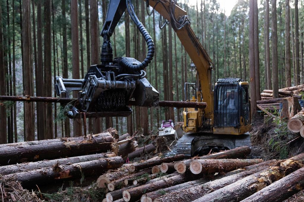 林業 高知 保有機械